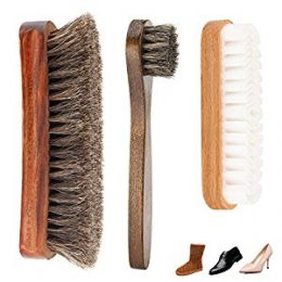 Shoe Shine Brush Kit pack of 3