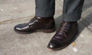 How to get gum off leather shoe