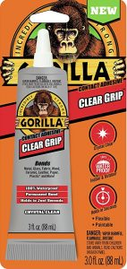Gorilla 8040001 Clear Grip Contact Adhesive