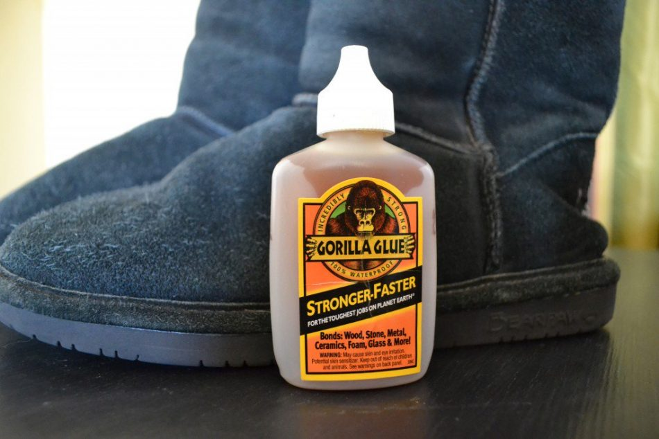 How to fix Uggs with Shoe Repair Glue