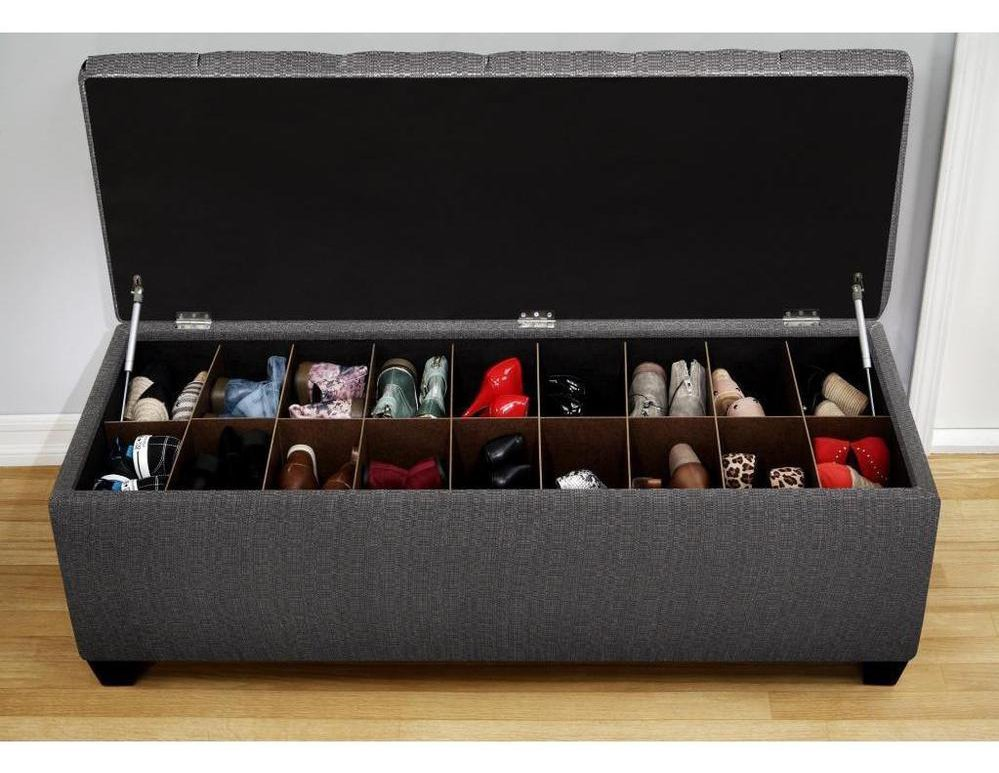 Shoe Racks and Organizers ideas shoe storage ottoman